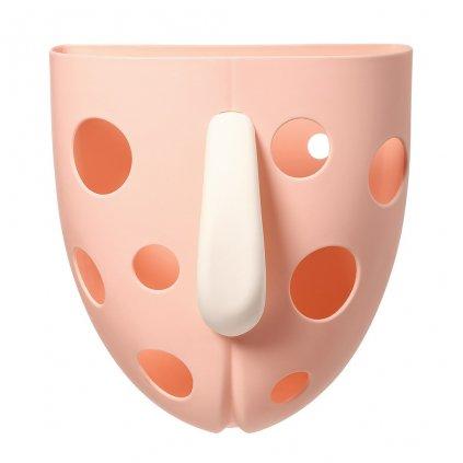 Plastový box na hračky do vane Baby Ono ružový