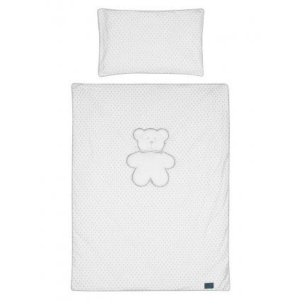 2-dielne posteľné obliečky Belisima Biely medvedík 90/120