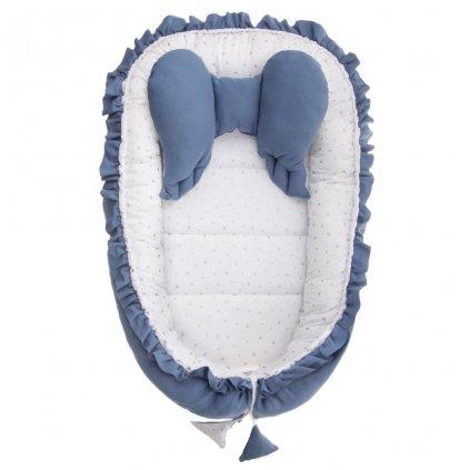 Hniezdočko pre bábätko Belisima Angel Baby modré