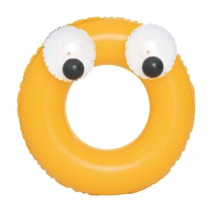 Detský nafukovací kruh Bestway Big Eyes žltý