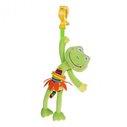 Detská plyšová hračka s vibráciou Akuku Žabka