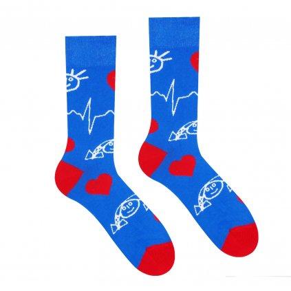 Veselé ponožky Detské kardiocentrum