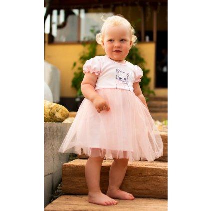 Dojčenské body s tylovou sukienkou New Baby Wonderful
