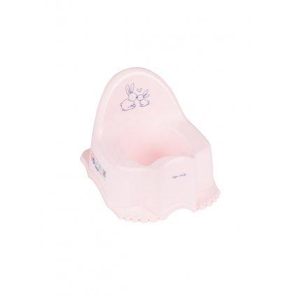 Detský nočník Bunny ružový