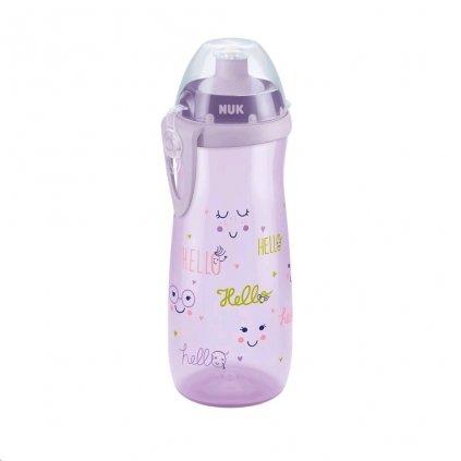 Detská fľaša NUK Sports Cup 450 ml dievča