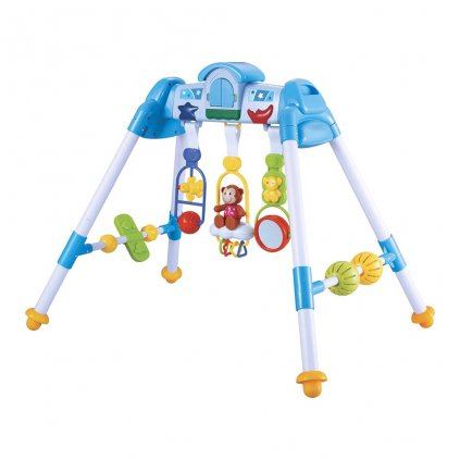 Detská hrajúca edukačná hrazdička BAYO premium blue