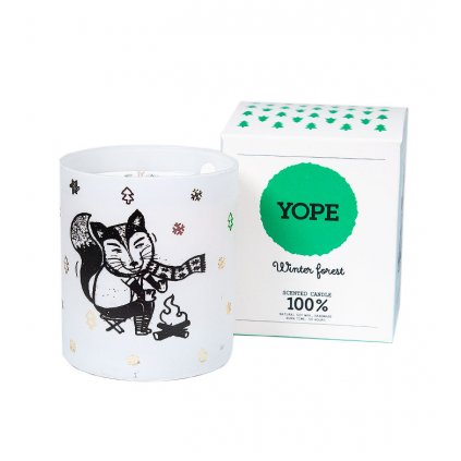 YOPE Winter forest sviečka - 200 g
