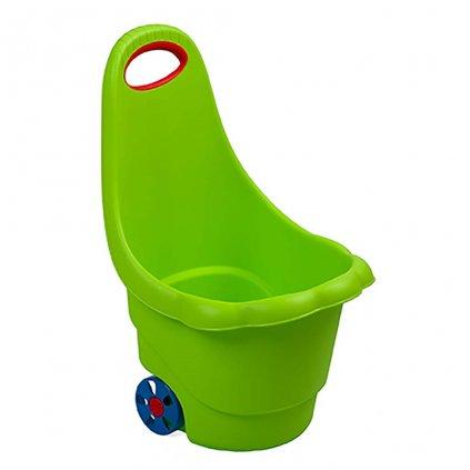 Detský multifunkčný vozík BAYO Sedmokráska 60 cm zelený