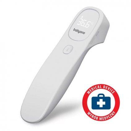BABYONO Teplomer infračervený bezdotykový Natural Nursing