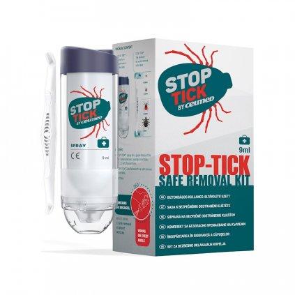 CEUMED Sada Stop Tick na odstránenie kliešťov 9 ml