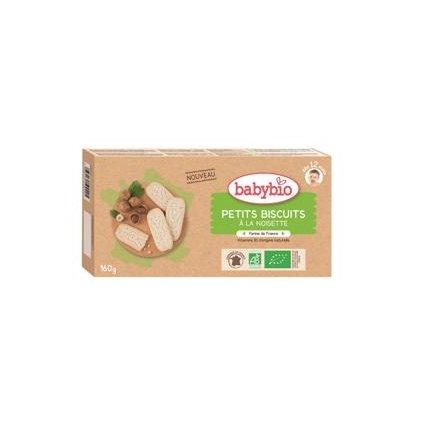BABYBIO Sušienky s orieškovou príchuťou (160 g)