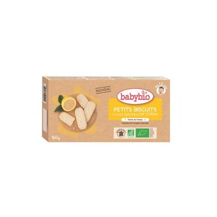 BABYBIO Sušienky s citrónovou príchuťou(160 g)