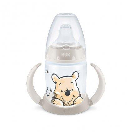 Dojčenská fľaša na učenie NUK 150 ml Disney Medvedík Pú béžová