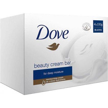 DOVE Tableta krémová Beauty 4x100g