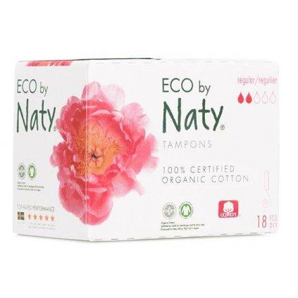 Tampóny dámske Regular 18ks Naty Nature Babycare