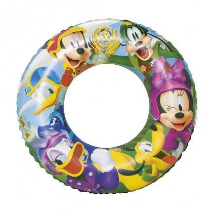 Detský nafukovací kruh Bestway Mickey Mouse Roadster