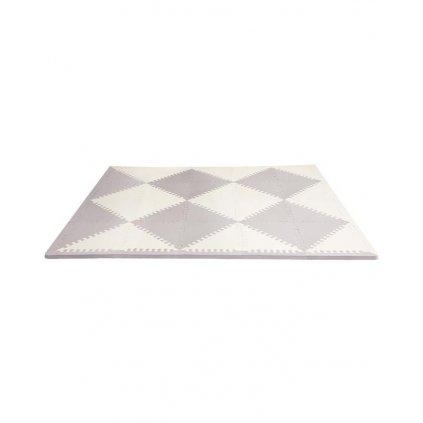 SKIP HOP Puzzle penové šedo-béžové 72 ks, 10 m+