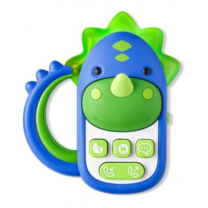 SKIP HOP Hračka hudobná telefón Dinosaurus 6 m+