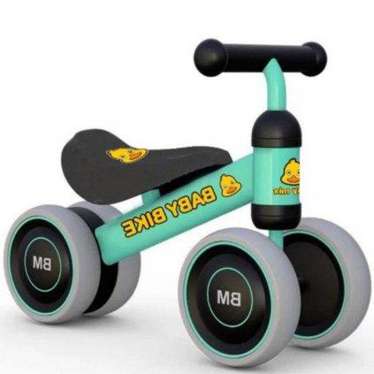Detské odrážadlo Baby Mix Baby Bike zelené