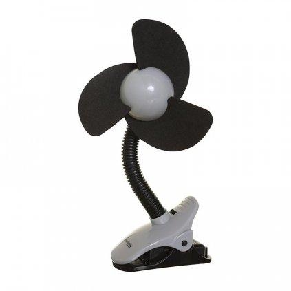 DREAMBABY Ventilátor na kočík FIN Black