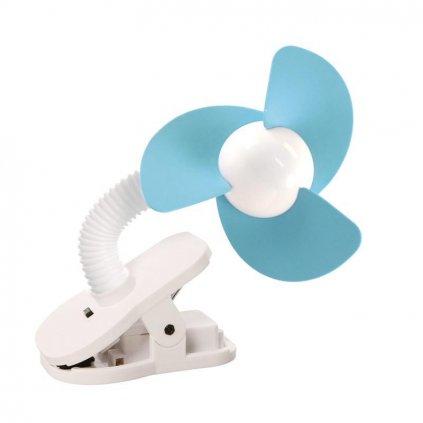 DREAMBABY Ventilátor na kočík FAN modrý