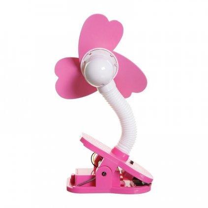 DREAMBABY Ventilátor na kočík FAN ružový