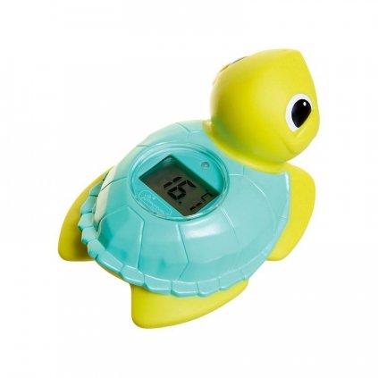 DREAMBABY Teplomer digitálny do vody - Korytnačka