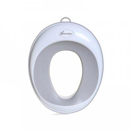 DREAMBABY Redukcia na WC šedo/biela