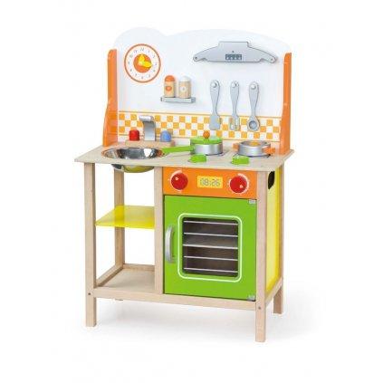 Detska drevena kuchynka Fantastic s prislusenstvom Viga