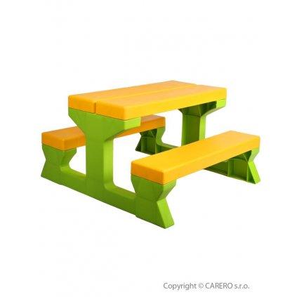 Detsky zahradny nabytok - Stol a lavicky