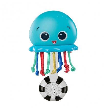 BABY EINSTEIN Hračka hudobná a svetelná Ocean Glow Sensory Shaker™ 0m+
