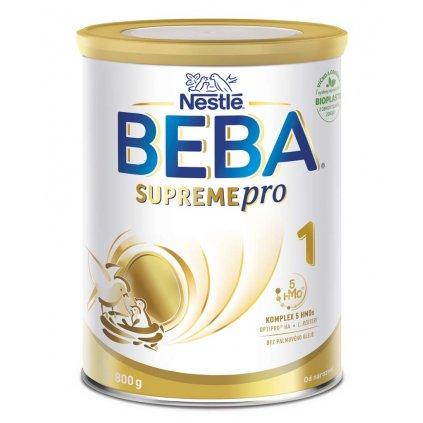 BEBA SUPREMEpro 1, Mliečna počiatočná výživa 800 g