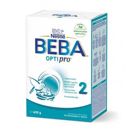 BEBA OPTIPRO 2, Mlieko pokračovacie 600 g