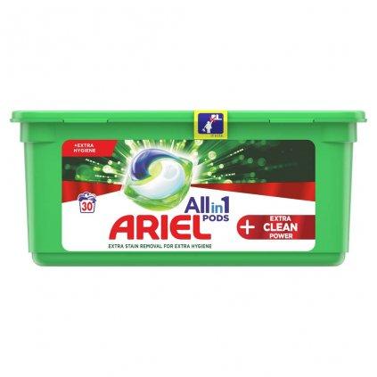 ARIEL Allin1 Extra clean gélové kapsuly na pranie 30 pd