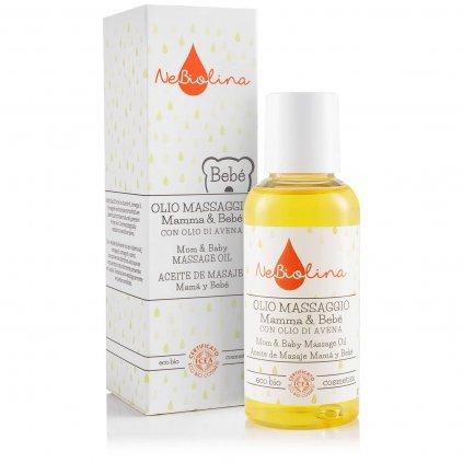 NEBIOLINA Masážny olej pre bábätká a mamičky