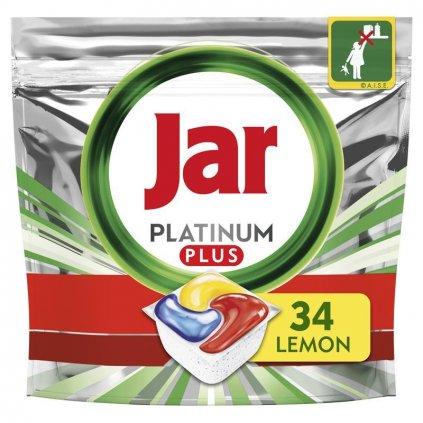 JAR Platinum Plus Quickwash tablety do umývačky 34 ks