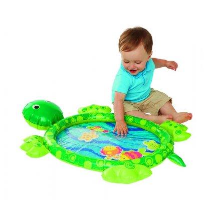 TEDDIES Zábavná vodné podložka korytnačka nafukovacie s doplnkami 5 ks 6 m +