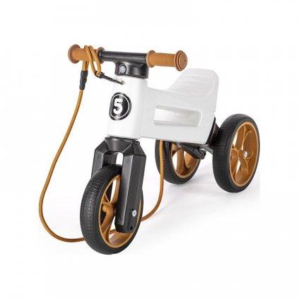 TEDDIES Odrážadlo FUNNY WHEELS Rider SuperSport biele 2v1