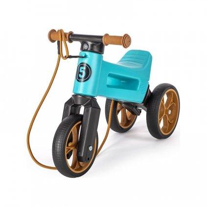 TEDDIES Odrážadlo FUNNY WHEELS Rider SuperSport tyrkysové 2v1