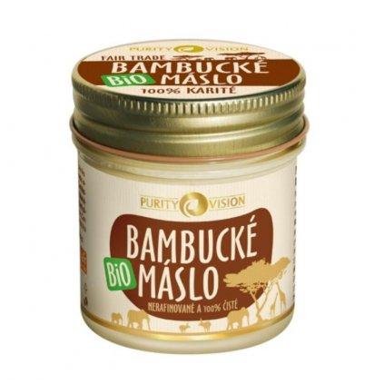 PURITY VISION Bio Bambucké maslo 120 ml