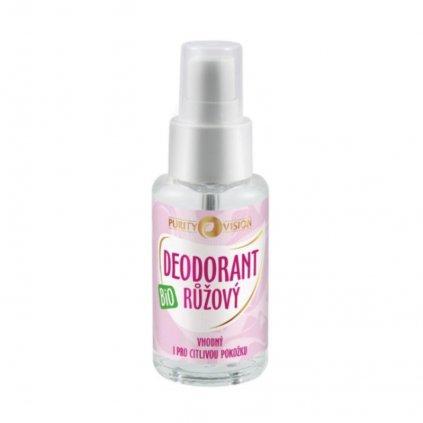 PURITY VISION Bio Ružový Deodorant 50 ml