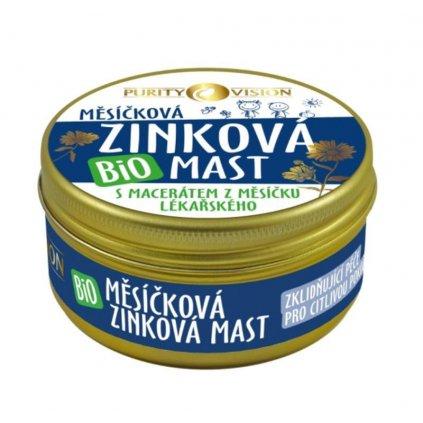 PURITY VISION Bio Nechtíková Zinková masť 70 ml