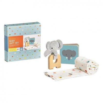 PETITCOLLAGE Dárkový set pre miminka slon