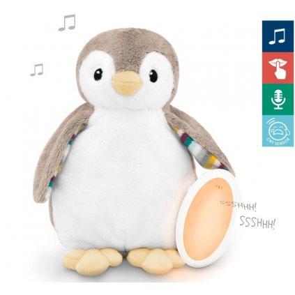 ZAZU Tučniak PHOEBE - šumiace zvieratko s nočným svetlom a hlasovým rekordérom