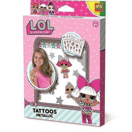 SES L.O.L. metalické tetovanie