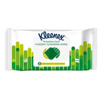KLEENEX Antibakteriálne vlhčené obrúsky 40 ks