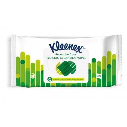 KLEENEX Antibakteriálne vlhčené obrúsky 24 ks