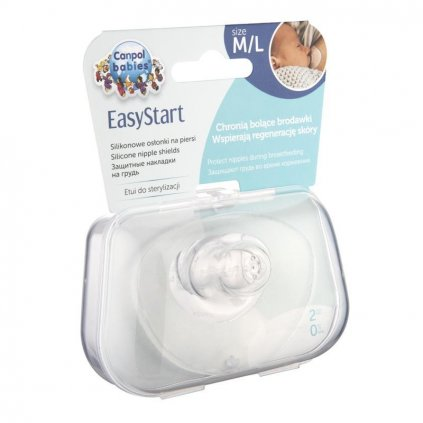 CANPOL BABIES 18/603 Chránič prsnej bradavky PREMIUM L 2 ks