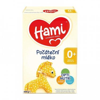 HAMI Počiatočné dojčenské mlieko 600 g 0+