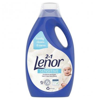 LENOR Sensitive tekutý prací prostriedok 2.09 l,38 pd